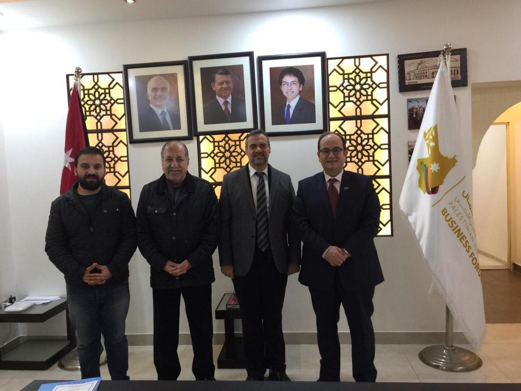 Filistin-Ürdün İş Forumu Ziyareti