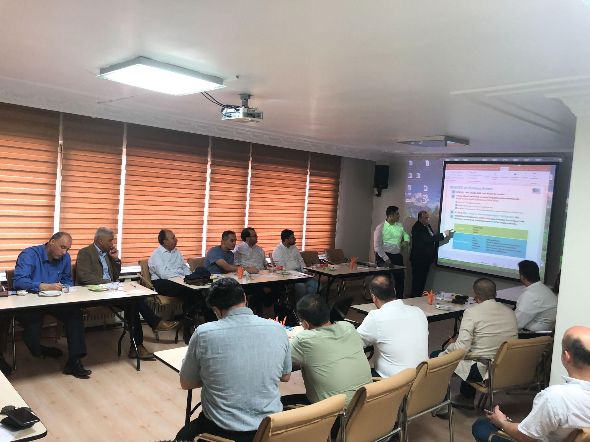 اجتماع أرتياد الشهري تحت عنوان : الخدمات التي تقدمها مؤسسة دعم الشركات الصغيرة والمتوسطة