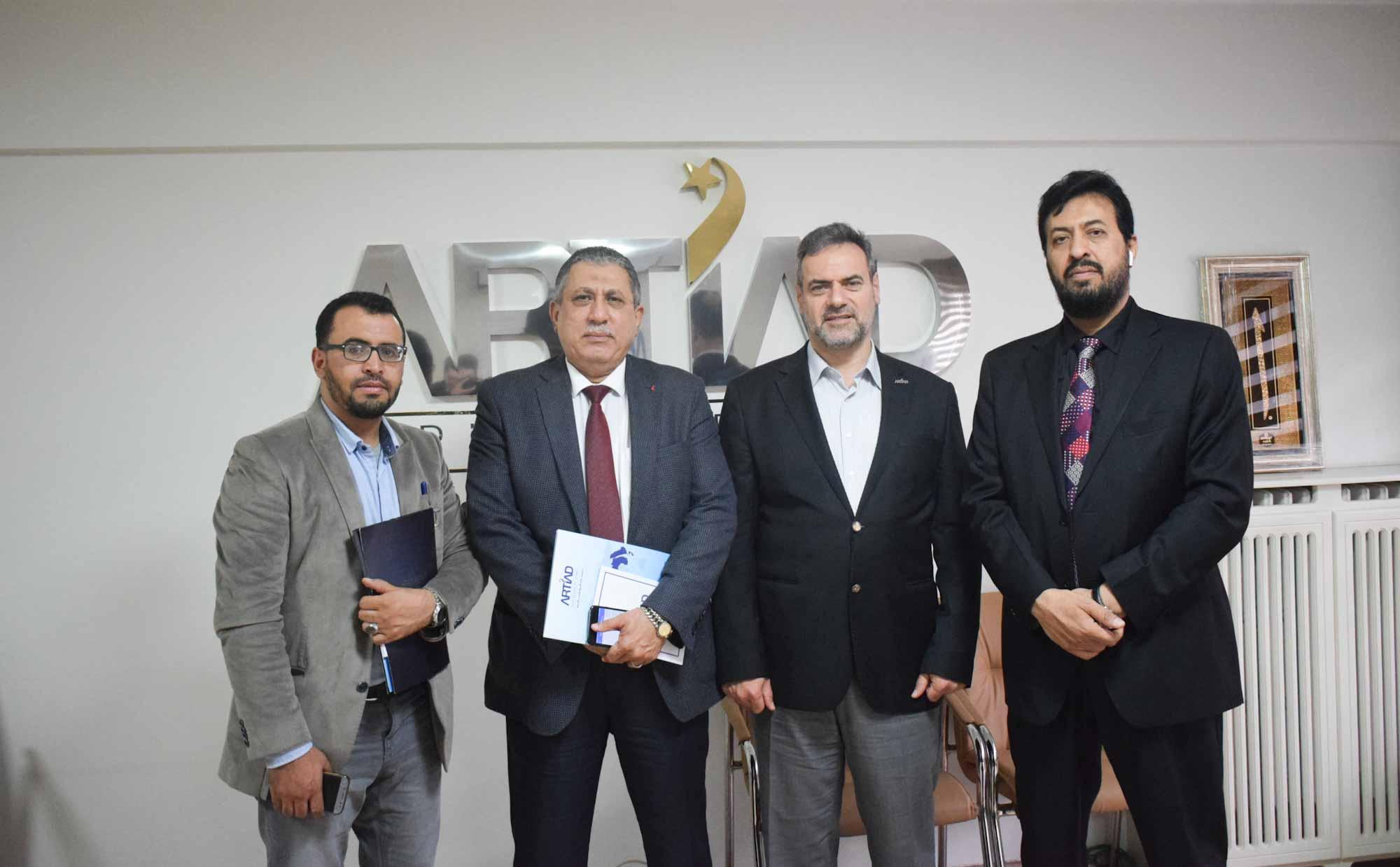 Uluslararası Yemenli İş Adamları Birliği Derneğimizi Ziyaret Etti