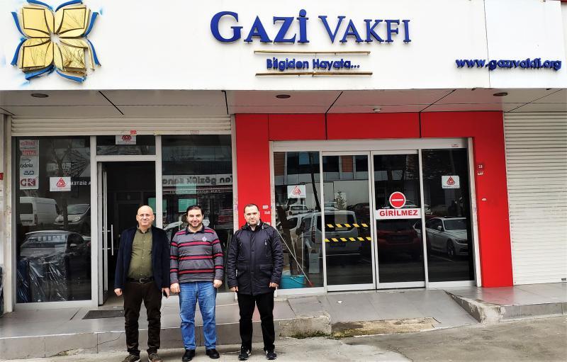 Üye Ziyareti - Gazi Vakfı